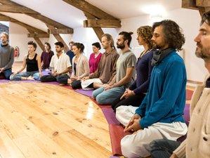 12 Days Silent Meditation and Yoga Retreat in Beautiful Beaujolais, France