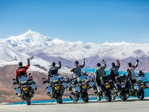 10 Day Tibet and Everest Guided Motorcycle Tour on BMW