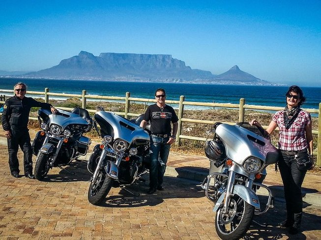 6 Days Harley Motorcycle Tour Western Cape, South Africa