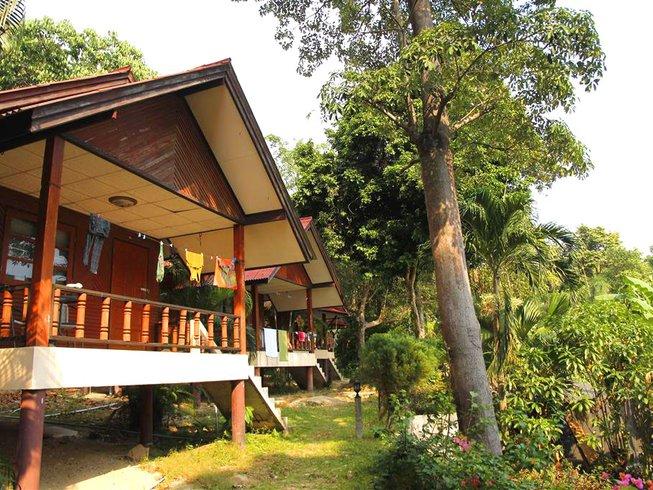 7 días retiro de yoga, detox ayurvédico y meditación en Ko Phangn, Tailandia