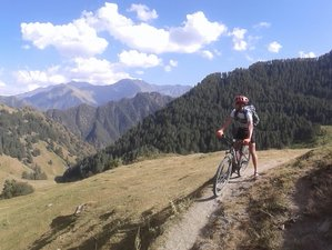 5 Day Mountain Cycling Holiday in Tusheti