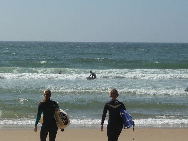 5 Days Surf and Yoga Retreat in Lisbon, Portugal