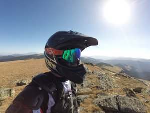 3 Days Private One on One Guided Enduro Motorcycle Tour in Sibiu Area, Romania