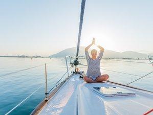 8 Tage Yoga und Segeln vor der Adriaküste Kroatiens