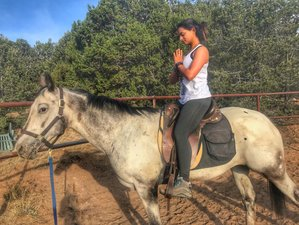 5 Days Equi-Yoga and Horse Riding Holiday in Santa Fe Area, USA