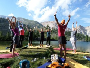 6 Days Hut to Hut Mindful Hiking Yoga Holiday in Dolomites, Italy