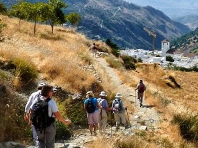 4 Days Hillwalking and Hatha Yoga Retreat in Andalucia