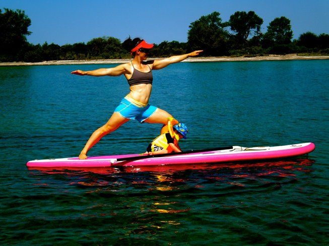 7 Days Moms SUP and Yoga Retreat Costa Rica