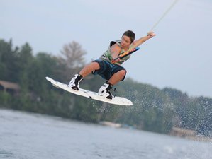 56 Days Intense Wakeboard, Waterski, and Wakesurf Camp in Perry, Ontario, Canada