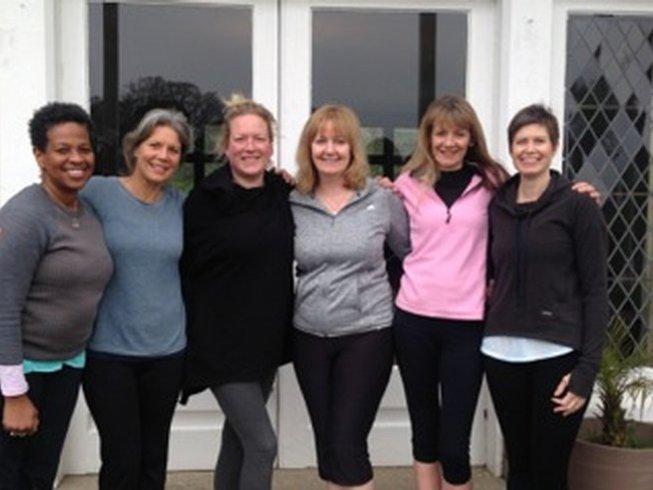 8 jours en stage de yoga, detox paleo et méditation dans les Cornouailles, Angleterre