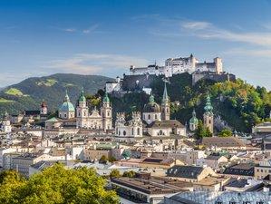 8 Tage Yoga im Luxus Design & Wellness Hotel, Wandern im Sommer, im Salzburger Land, Österreich