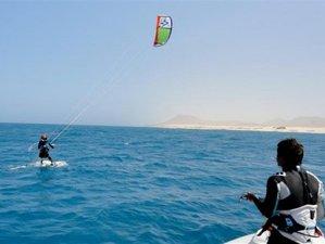 8 Days Beginner and Intermediate Kite Surf Camp in Fuerteventura