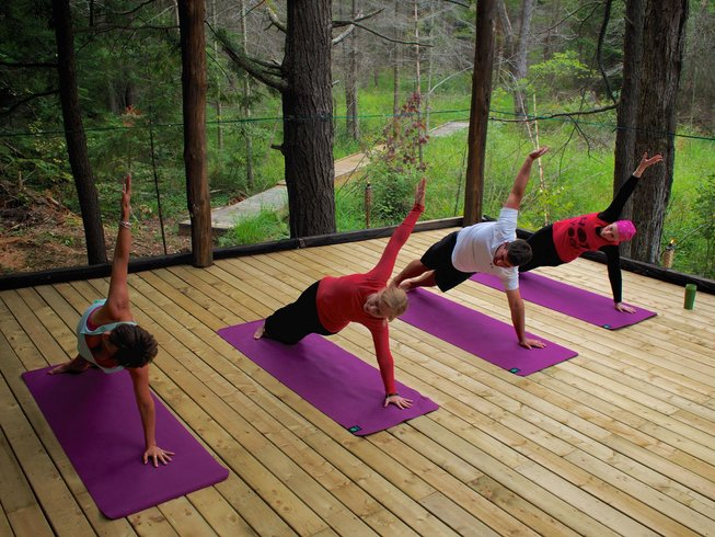 3 Days Yoga and Wine Retreat in Ontario