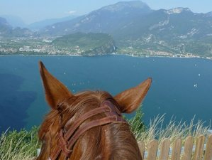 4 Day Weekend Horse Riding Holiday in Lombardy, Toscolano-Maderno