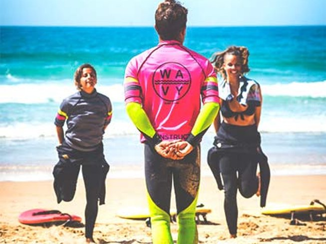 8 Days Surf Camp in Portugal