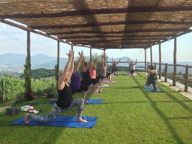 8 días de aventura y retiro de yoga en Lucca, Italia