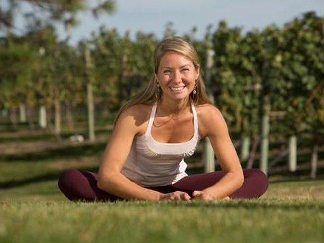 3 days weekend yoga and wine retreat in okanagan canada for Yoga and wine retreat