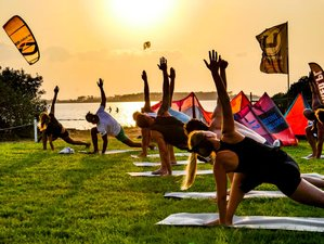 8 Day Yoga and Kitesurfing Adventure Camp in Lo Stagnone, Sicily