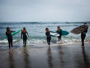 5-Daagse All-Inclusive Surf en Yoga Retreat voor Vrouwen in Santa Cruz, Californië