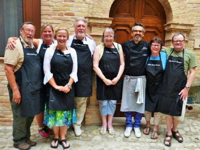 8 Days Cooking, Food and Wine Holidays in Central Italy