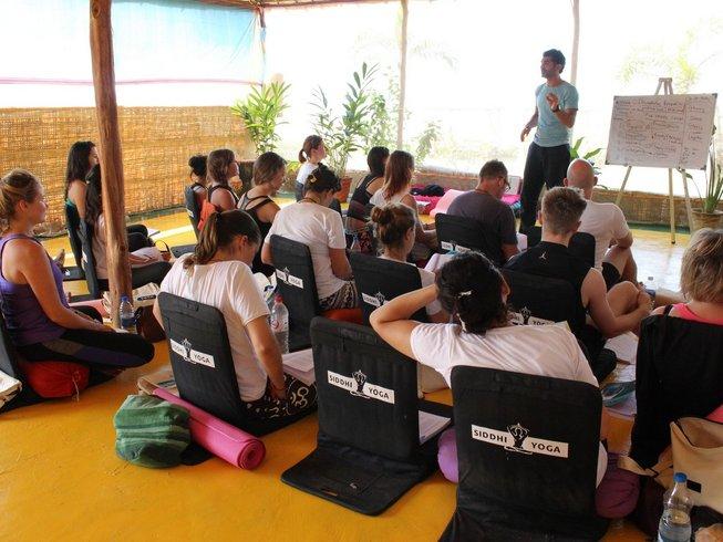 26-Daagse 200-urige Luxe Yoga Docentenopleidin in Goa, India