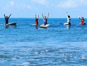 7 Tage Yoga und Surf Camp für Frauen in Dominical, Puntarenas