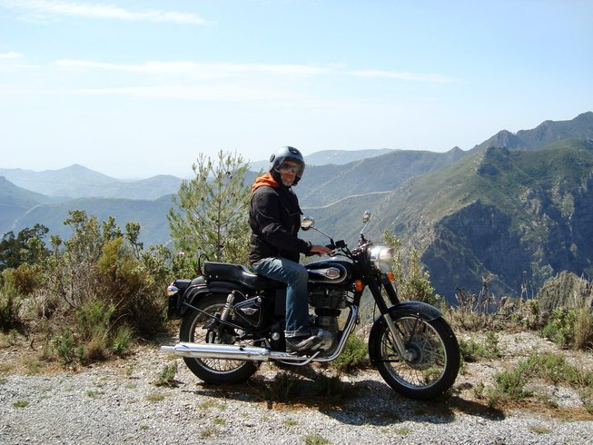 7 Days Royal Enfield Motorcycle Tour in Province of Granada, Spain