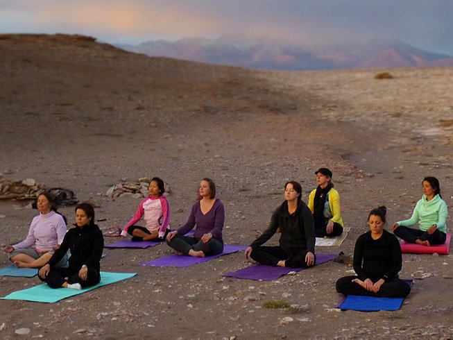 3 Days Yoga Weekend Retreat in Combarbala, Chile