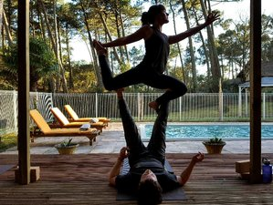 8 Days Yoga and Surf Retreat in Hossegor South West France