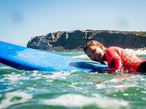 15 Days White Wave Surf Camp in Ericeira, Lisbon Area, Portugal