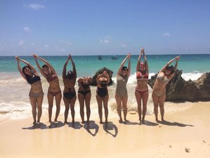 7 Day New Year's Yoga and Pilates Retreat in Tulum, Quintana Roo