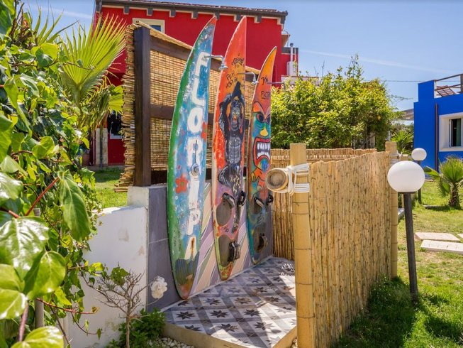 5 Days Kitesurf, Surf, SUP, and Yoga Holidays in Sicily, Italy
