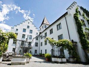 Entspannendes Wochenende mit Yoga, Meditation und Massage auf Schloss Wartegg in der Schweiz