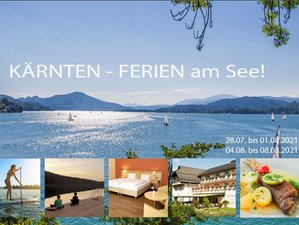 5 Tage Yoga Urlaub mit Wandern, Qigong und Energiecoaching im 4 Sterne Seehotel in Kärnten