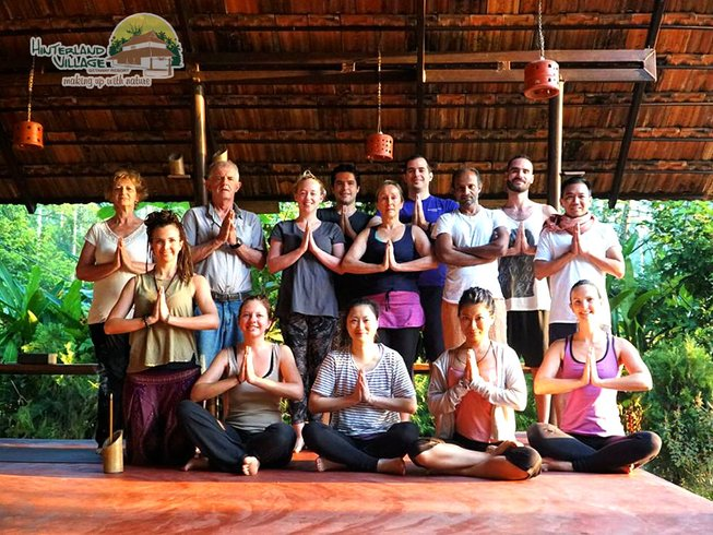 17 Days 100-Hour Yoga and Meditation Foundation Course in Kerala