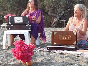 8 Days Anahatha Yoga Practice with Anja and Kirtan with Lalita Devi in Crete, Greece