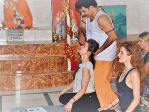 10 jours en stage de yoga économique en ashram à Rishikesh, Inde