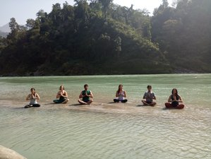 7 Days Detox Yoga Retreat in Rishikesh, India