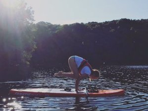 3 Day Weekend Retreat with Yoga, Meditation, SUP, Wilderness, and Campfires at Campwell, Cherry Wood