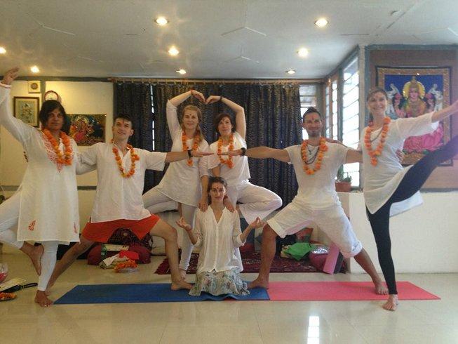 12 Days Ashtanga Vinyasa with Yogi Sachin in Rishikesh