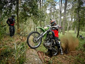 3 Days Trails Riding and Guided Enduro Motorcycle Tour in Bali, Indonesia