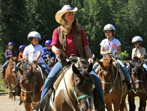 7 Day Family Summer Ranch Vacation in Harrison, Idaho