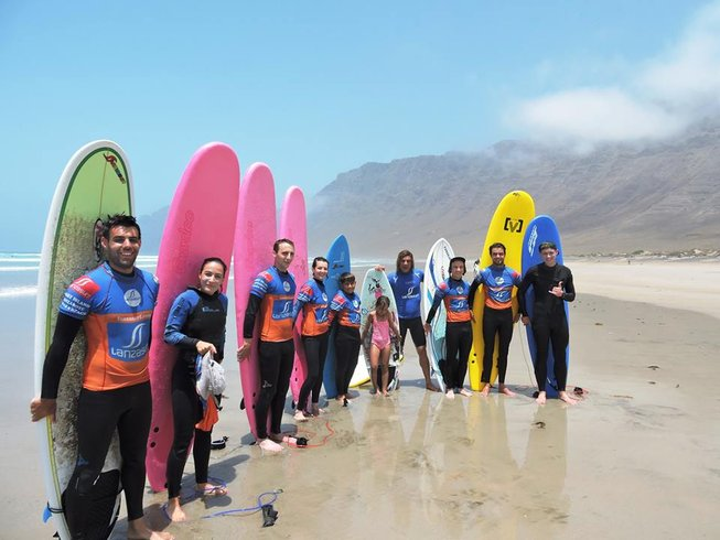 6 Days Surf Camp in Lanzarote