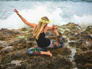 8 Days Fluidity Yoga and Surf Eco Retreat in Porto, at virgin beach paradise