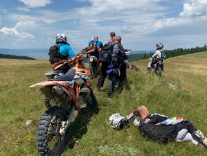 6 Days Enduro Escape Motorcycle Tour in Romania