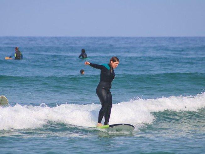 6 Tage Surfen und Yoga Stadturlaub in Gipuzkoa, Spanien