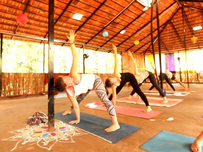 27 Days 200-Hour Yoga Teacher Training in Goa, India
