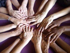7 jours en stage de hatha, yin, yoga nidra et atelier mandala dans un éco-lieu, Eure, Normandie