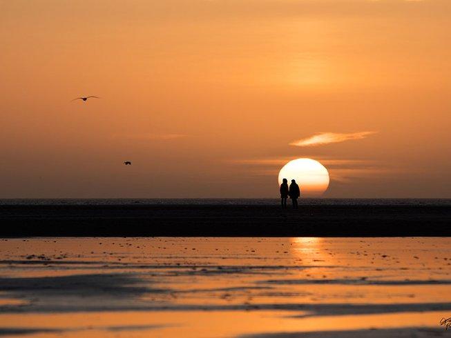 """7 Tage """"Wie neu geboren"""" Yoga und Detox Retreat auf der Nordsee Insel Amrum"""