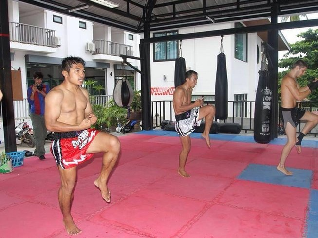 3 Weeks Muay Thai Gym in Thailand